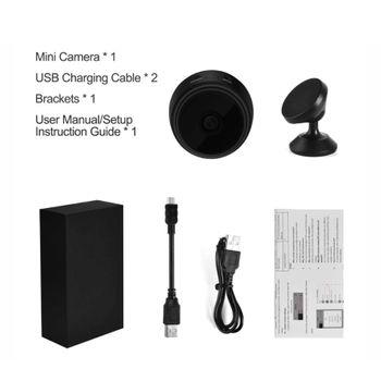 Camera mini ngụy trang siêu nhỏ có wifi - Mini A9 mắt cá 150 độ cảm biến