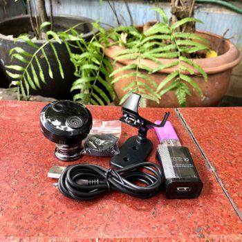 Camera mini wifi siêu nhỏ HDQ15 1080P Hồng Ngoại Kết Nối không dây với điện thoại