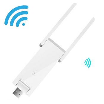 Bộ kích sóng Wifi Mercury 2 râu chinh hãng - Cổng USB sử dụng điện 5V