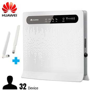 Bộ phát wifi 4G Huawei B593S-22 - Support 4 cổng Lan Model Version 2018 mới nhất tặng kèm 2 ăng ten