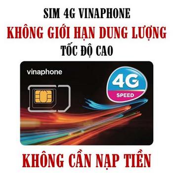 Sim 4G Viettel trọn gói không giới hạn dung lượng, không cần nạp tiền