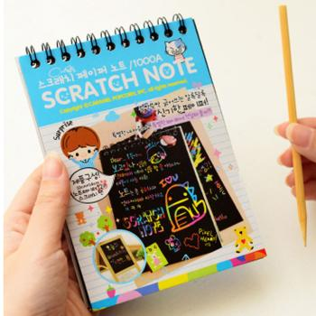 Sổ tay ma thuật ( Scratch paper note )