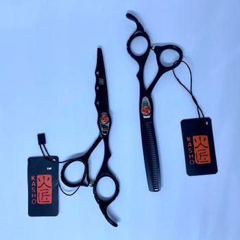 Bộ kéo cắt tỉa KASHO Full Black Nhật Bản