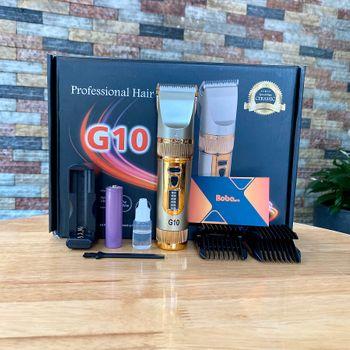 Tông đơ cắt tóc chuyên nghiệp G10 - công nghệ Nhật Bản