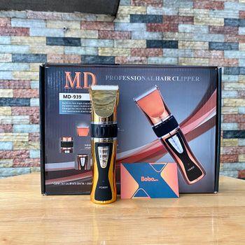 Tông đơ cắt tóc MD 939 lưỡi bằng sứ chuyên cho tiệm tóc