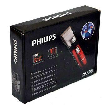 Tông đơ cắt tóc Philips 8088 lưỡi cắt siêu êm - Bộ có sẵn 2 pin