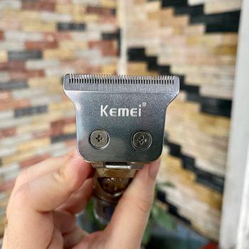 Tông đơ chấn viền cắt tóc cao cấp kemei an toàn cho gia đình