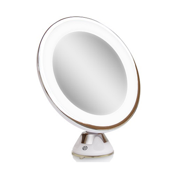 Gương tròn trang điểm để bàn đèn Led Rio MMSU