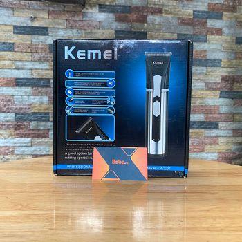 Tông đơ cắt tóc Kemei 3007 không dây chính hãng cao cấp
