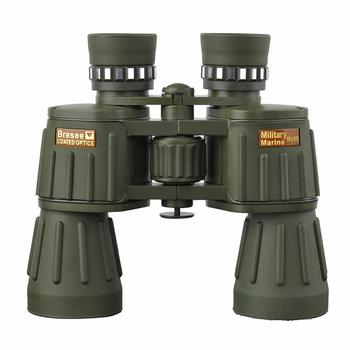 Ống nhòm quân đội Bresee 10x50 Coated Optics Telescope lăng kính BAK4