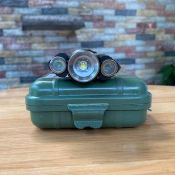 Đèn pin 3 đầu siêu sáng