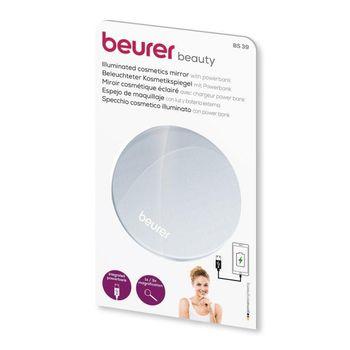 Gương trang điểm cầm tay Beurer BS39 Zoom 3 lần - Pin 3000Mah