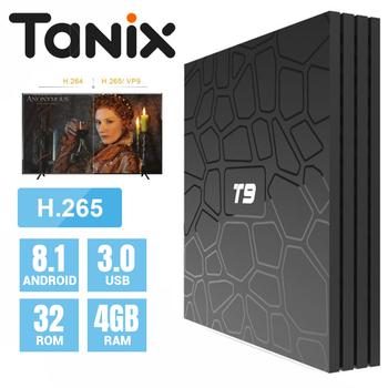 Android Box Tanix T9 chính hãng - 4GB Ram 32GB Rom Android 8.1