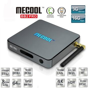Android Tivi Box Mecool BB2 Pro - Ram 3GB