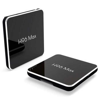 (Amlogic S905X2) Android TV Box H96 Max X2 Ram 4GB DDR4 Rom 64GB