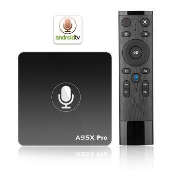 Enybox A95X Pro - Điều khiển giọng nói - Android 7.1