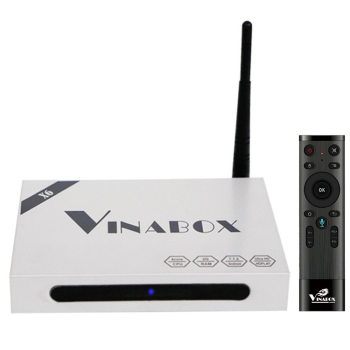 VinaBox X6 2019 - Ram 2G  hỗ trợ tìm kiếm bằng giọng nói