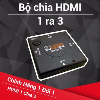 Bộ chia HDMI 3 ra 1