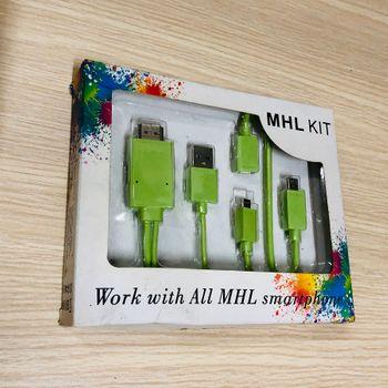Cáp MHL kit dài 2m dùng cho smart phone có hỗ trợ MHL
