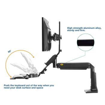 Khung treo gắn bàn LCD đôi FC24 2A ( 19 - 24 inch)