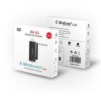 HDMI không dây MiraScreen B4-8A sử dụng cho tất cả thiết bị