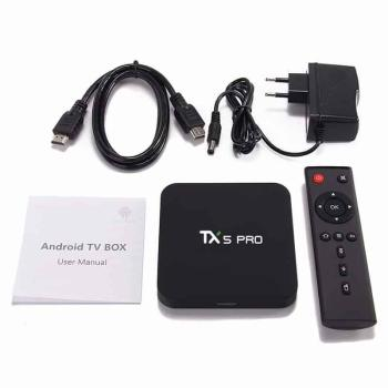 (Alice UX Design) TX5 Pro New - S905X2 Ram 4G Android 8.1
