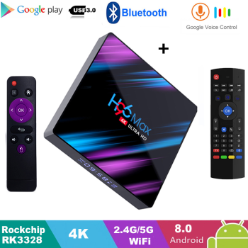 Enybox H96 MAX RK3318 2GB/16GB Android 9.0 TV Box - Kèm KM800V