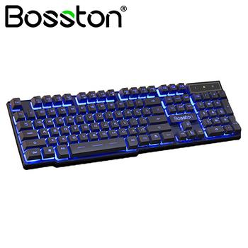 Bàn phím giả cơ Bosston 803 Led USB