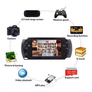 Máy chơi game cầm tay E01 - Màn hình 4.3 inch hỗ trợ Touch 8GB