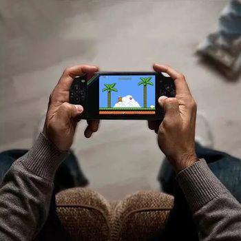 Máy chơi game cầm tay X6 trãi nghiệm game NES kiểu mới