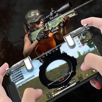 Bộ 2 nút chơi game PUBG - Call of Duty trong suốt K03 - Leo Top 1 dễ dàng