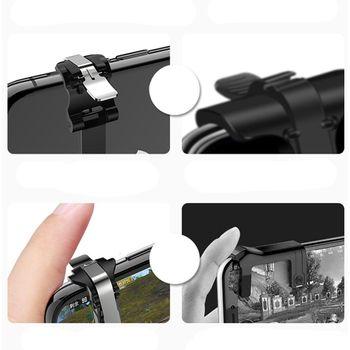 Nút bắn S4 chuyên ROS PUBG cò quay gắn phía sau