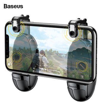 Tay kẹp giá đỡ chơi game cho điện thoại chính hãng Baseus B3 - Có nút bắn cơ chơi game Call of Duty