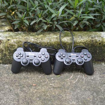 Tay game đôi 2 tay KM88 rung (Có dây chơi trên PC)