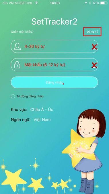 Hướng dẫn đăng ký tài khoản Seetracker 2 cực nhanh sử dụng trên đồng hồ định vị trẻ em