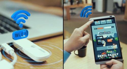 USB 4G phát Wifi Huawei E8372 chính hãng