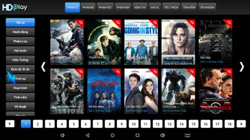 HD play H8 lõi tám - 3G Ram - 32GB Rom