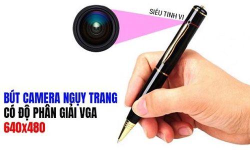 Bút camera nào quay lén bí mật ngụy trang phổ biến và tốt nhất hiện nay