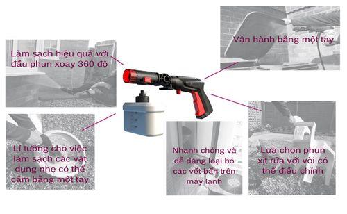 Máy xịt rửa xe Bosch Easy Aquatak AQT 100 - Công suất 1200W