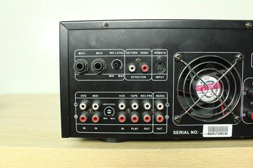 Vang liền công suất CARD KTV-980