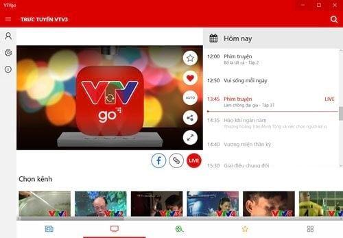 Làm cách nào để xem VTV Go trên máy tính cùng xem qua bài viết sau nhé