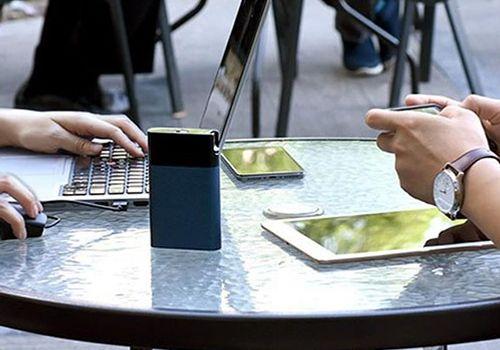 Bộ phát wifi xiaomi Zmi MF885 di dộng từ sim 4G kiêm sạc dự phòng 10.000m