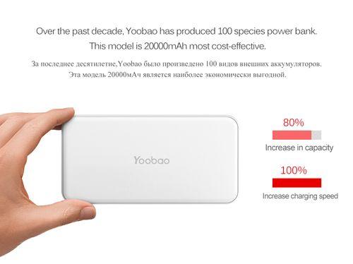 Pin sạc dự phòng Yoobao S8 PLUS 20000mAh [CHÍNH HÃNG]