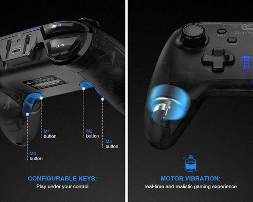 Gamepad cho điện thoại Gamesir T4 Wireless chơi trực tiếp qua bộ thu USB Receiver