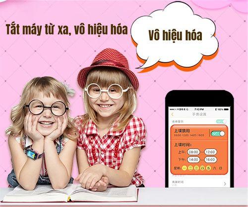 Đồng hồ định vị trẻ em V68G có hỗ trợ nghe gọi và sim 4G