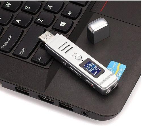Máy ghi âm GH 807 8GB ( Cổng USB lấy file trực tiếp )