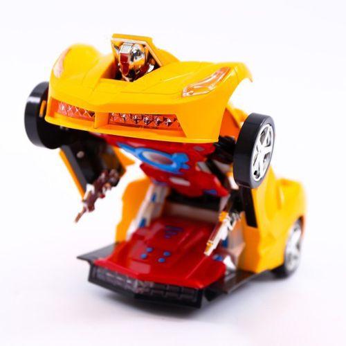 [FLASH SALE] Đồ chơi xe biến hình Robot tự động, có nhạc