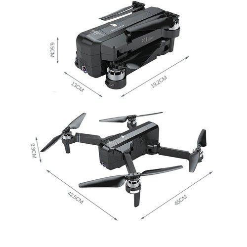 kích thước của flycam sjrc f11