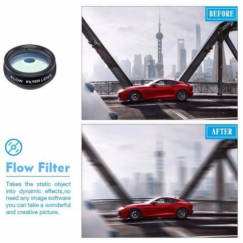 Lens Marco Chụp Cận Cảnh Và Góc Rộng Apexel APL-DG10 10 IN 1