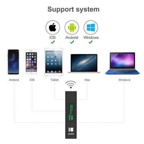 Camera nội soi không dây cho điện thoại Android, iOS và máy tính TX555